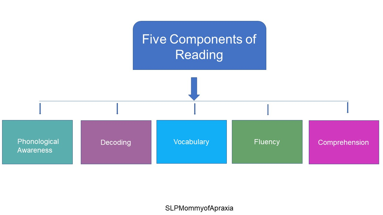 Slp S Integral Role In The Five Components Of Reading